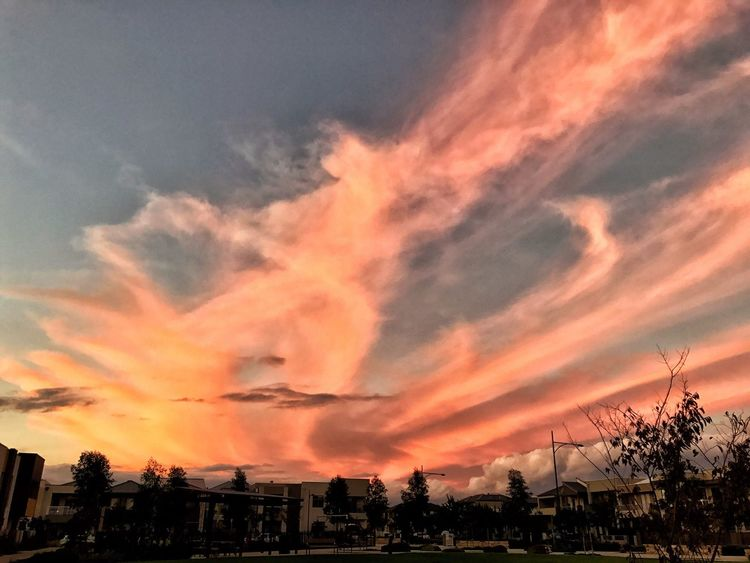 From My Point Of View Capture The Moment Art Is Everywhere Sunset Orange Color Cloud - Sky Beauty In Nature Scenics Outdoors EyeEm Nature Lover Eye4photography  Tranquil Scene Landscape The Great Outdoors - 2017 EyeEm Awards
