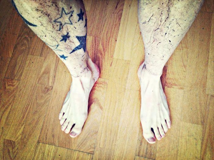 Fucking dirty feet.