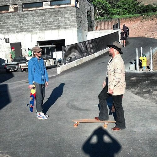 Crash and Christian from EdwardSharpandtheMagneticZeros Redbutte Edwardsharpe