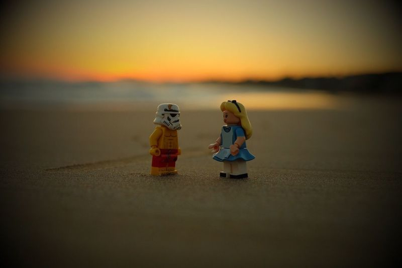 Sunset LEGO Legophotography Lego Minifigures Legostagram Mediterranean  Tarragona Catalunya Eyeem Market EyeEm Eyeemphotography Emeyebestpics