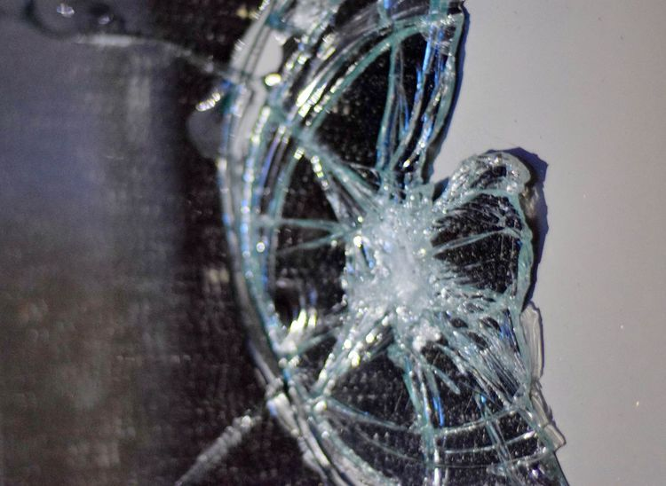 Broken Glass Broken Mirror 7 Years Bad Luck.. Angermanagement Angrythoughts