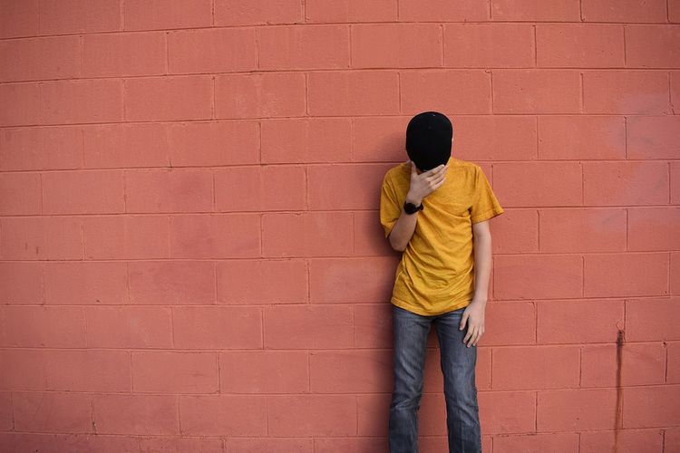 man by wall Brick Wall Day Men One Man Only One Person Only Men Outdoors People Red wall - building feature Adapted To The City Uniqueness Millennial Pink Long Goodbye EyeEm Diversity TCPM The Portraitist - 2017 EyeEm Awards The Street Photographer - 2017 EyeEm Awards Sommergefühle Neon Life Breathing Space Rethink Things The Portraitist - 2018 EyeEm Awards The Still Life Photographer - 2018 EyeEm Awards The Street Photographer - 2018 EyeEm Awards The Fashion Photographer - 2018 EyeEm Awards