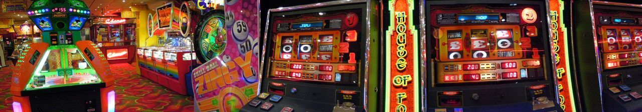 Games Of Luck Luck Game Of Chance Games Slotmachines Panaromic Photos Flashing Lights Gambling Fruit Machines Fruit Machine Arcade Machine Arcade Games Arcade