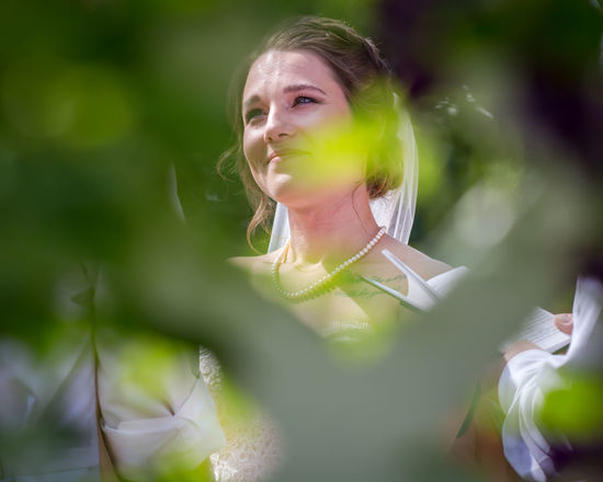 Family Wedding Adult Beautiful Woman Contemplation Day Front View Green Color Hairstyle Headshot Leaf Leaves Leisure Activity Lifestyles Looking Away One Person Outdoors Plant Portrait Real People Selective Focus Young Adult Young Women This Is Family Visual Creativity Summer Exploratorium The Portraitist - 2018 EyeEm Awards