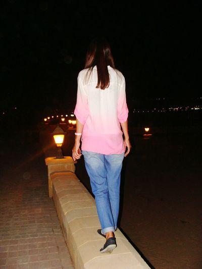 Egipt Nightlife Night View Egipt 😻😻 Old Palace Sahl_hasheesh Road набережная