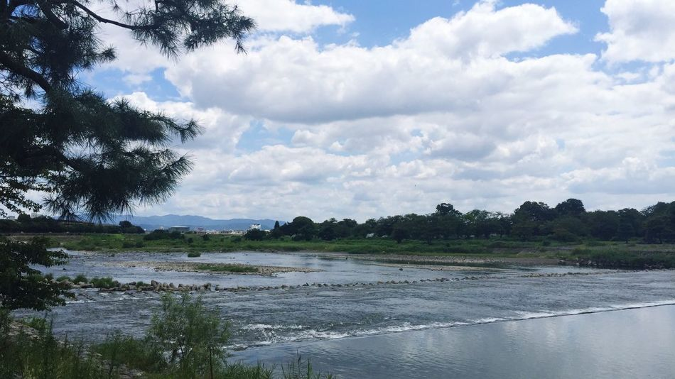24Aug2015 Sky And Clouds River Nature
