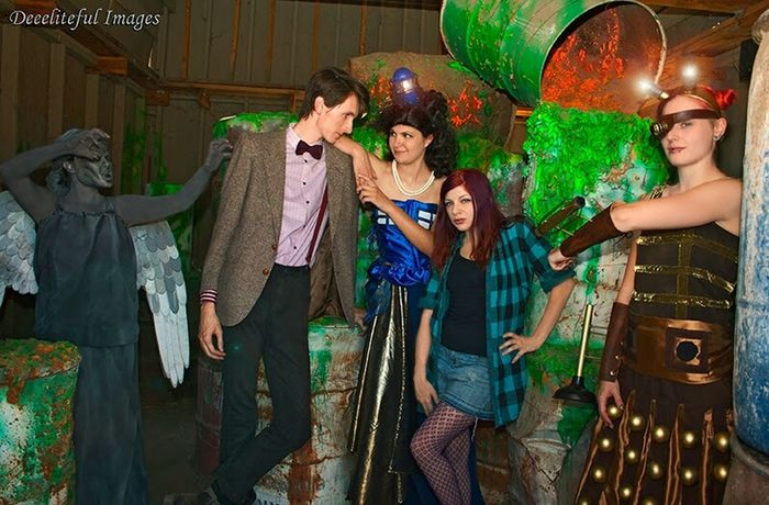 Doctor Who Doctorwho Photography Modeling Photographer Mywork Weepingangel TheDoctor Tardis Amypond Dalek