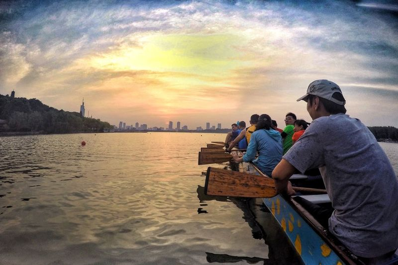 Nanjing Dragonboat Lakeinthecity Lake View Sport