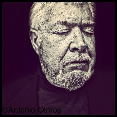 Timothy Findley, writer, photographed by Antonio Olmos