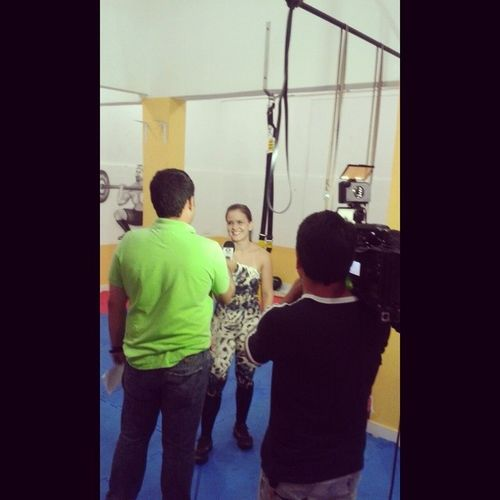 CrossFit - Academia Central Fitness para a TV Centro América.
