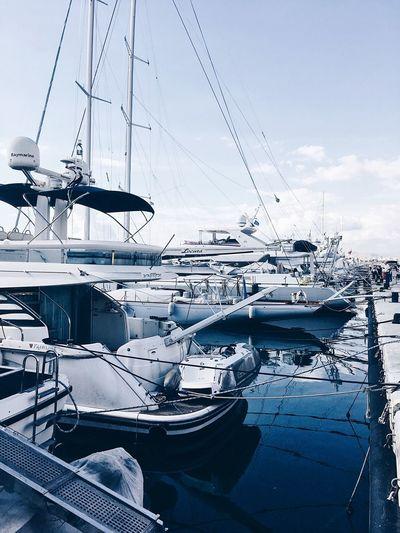 Boats, boats,
