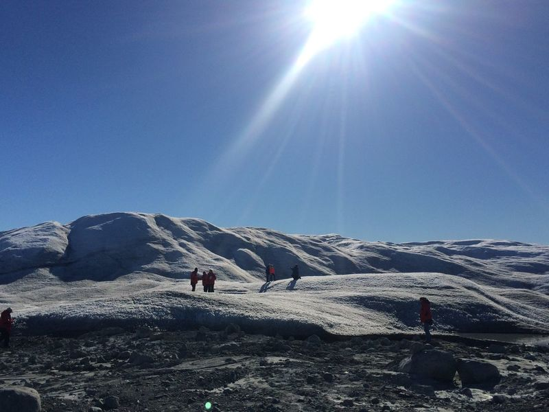 Tour Tourism Tourist Attraction  Ice Mountain Majestic Mountain Isua Beautiful People Glacier Inland Ice Greenland Ilulissat Sermemiut Nature Icefjord Awesome Beatiful Outdoors Sun Helicopter Ride Ice Desert Taking A Break