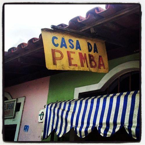 Estou na Bahia. Pemba