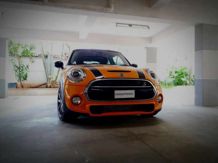My kind of orange!! MiniCooper Johncooperworks Volcanoorange Hothatch Carlifestyle