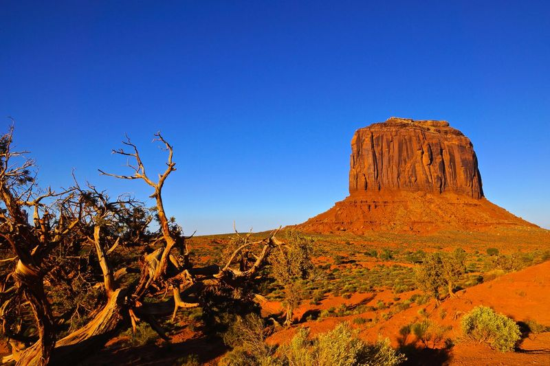 Arizona Monument Valley Tribal Park Beauty In Nature Landscape Nature Outdoors Rock - Object Rock Formation