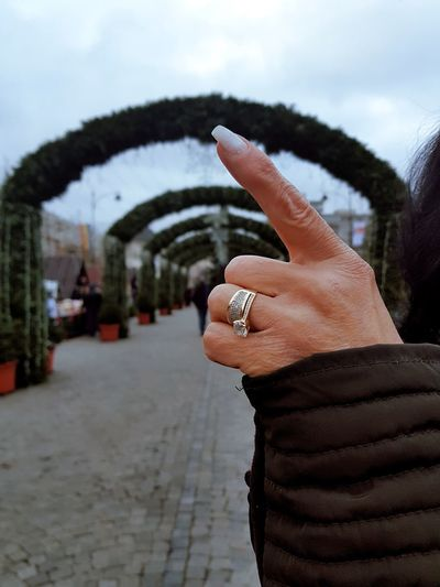 Weddingring Hand Love♡ Mother Christmas Decoration City Close-up Aging Process Wisdom Marriage
