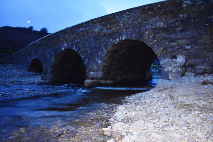 The River Flows Through Architecture Bridge - Man Made Structure Connection Built Structure Arch Water River