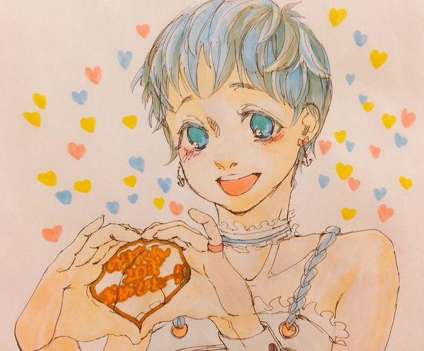 HappyBirthday Birthdaycard Forfriend Illustration
