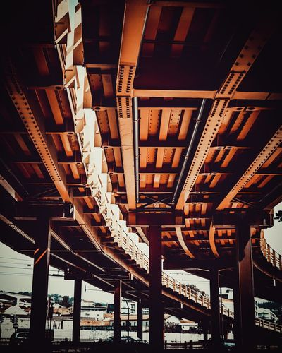 Built Structure Architecture Low Angle View No People Bridge Indoors  EyeEmNewHere Metal Day Architectural Column Sunlight Bridge - Man Made Structure Building The Architect - 2018 EyeEm Awards