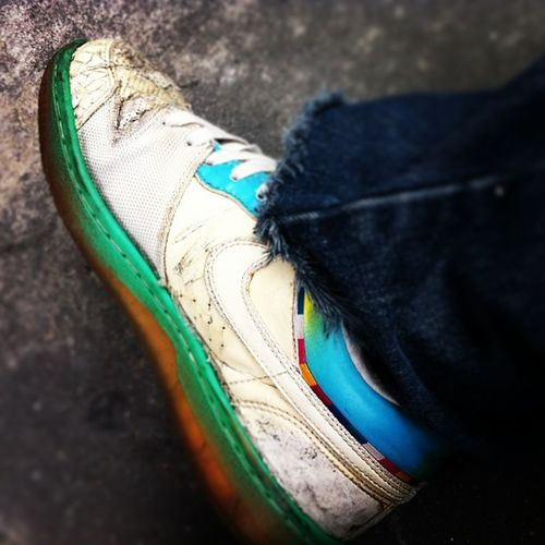 Old but still tockin' it! Force CourtForce Air Nike Kicks Shoes Nice Things Check