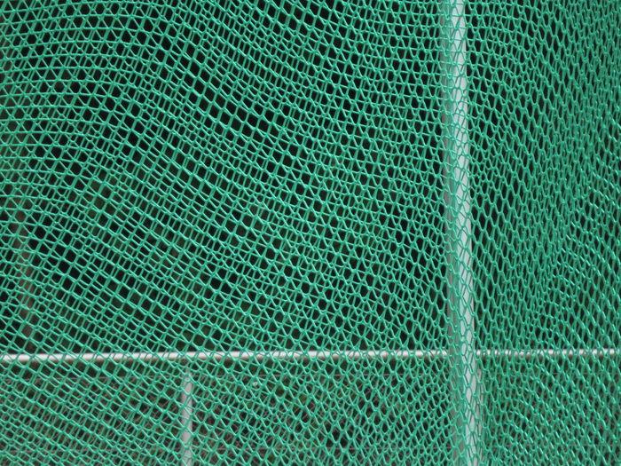 Full Frame Shot Of Green Net