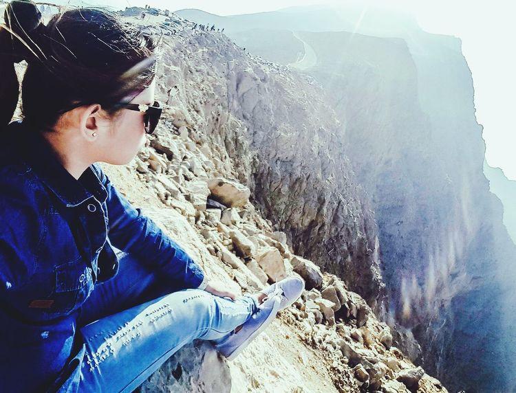 The Great Outdoors - 2016 EyeEm Awards Mountain View Mountain Peak SuperGirl! ✌ UAE JaisMountain