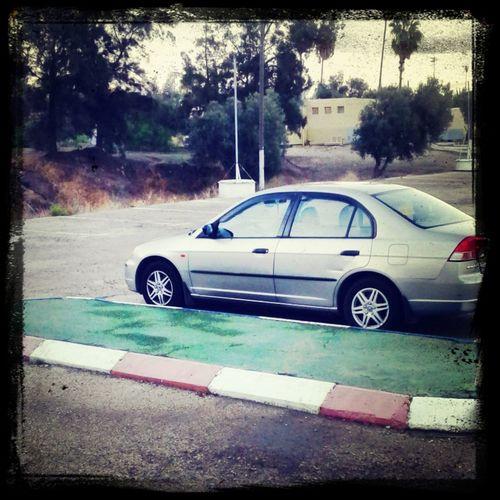 My lovley car:) Honda Civic First Eyeem Photo