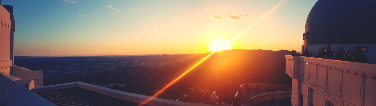 L.A. #losangeles #view #rooftop #travel #sunset #goodvibes