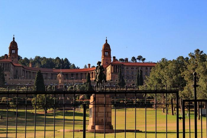 Architecture Building Exterior Famous Place History Pretoria Pretoria, South Africa Travel Destinations Union Building