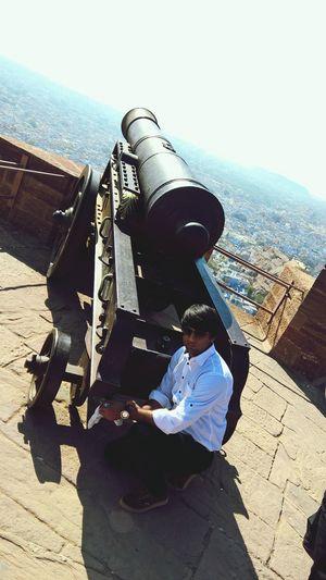 Fire 💣💣 Mehrangarh Fort Rajasthandiaries Rajput Glory Attacking Position