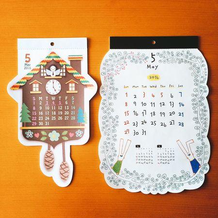 よろしくメイ↟↟↟ カレンダー Calendar 5月 めい May