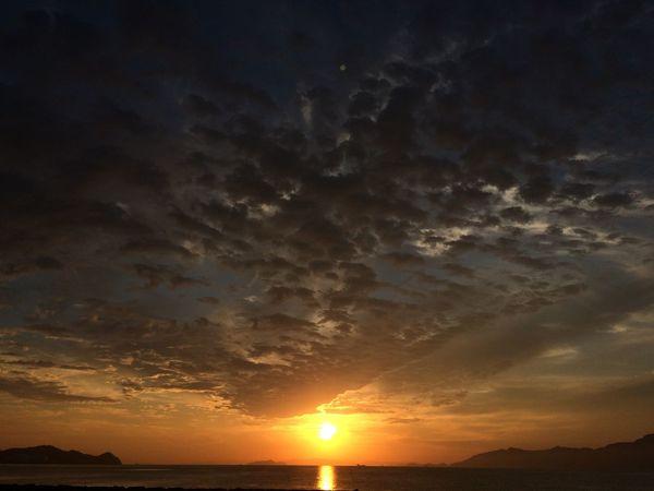 Sunset Sea Beautiful