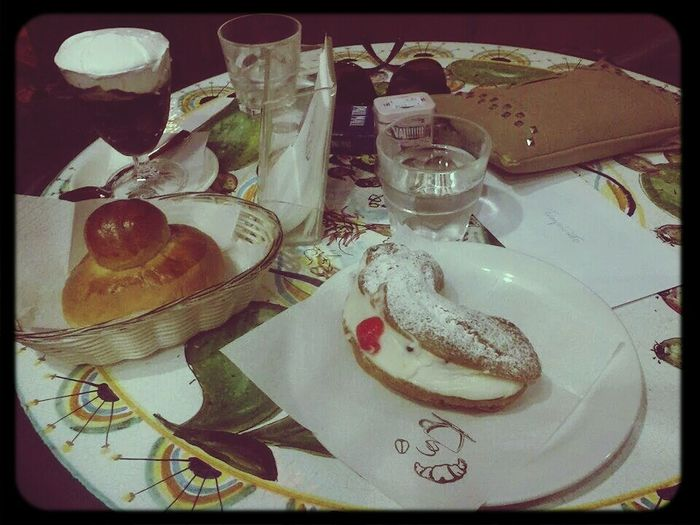 Morning Rituals Sicilian breakfast. Ricotta, Brioche, Cherry, Love.