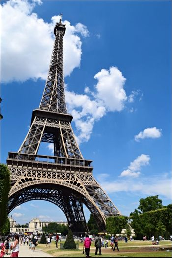 Tour Eiffel Paris July2014 Was with my new camera ? The Tourist
