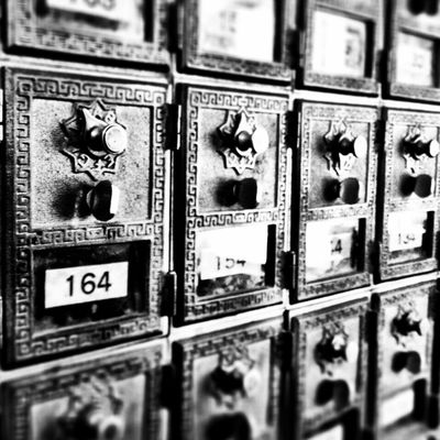 Zip Code IPhoneography Mobilephotography Check This Out Blackandwhite Photography Black & White Blackandwhite Mailbox Post Office Hello World Relaxing Taking Photos 366dailies JAStudios Taking Photos Camera+