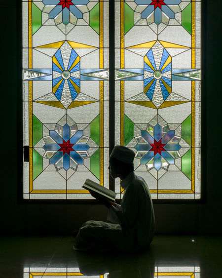 qur'an recitation Muslim Quran Recitation Reading Masjid Stained Glass Colorful Building Architecture And Art A New Beginning A New Perspective On Life