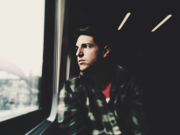 September Mytrainmoments Portrait Train Eye4photography  EyeEm Best Edits EyeEm Best Shots Color Portrait Tintype RePicture Masculinity The Portraitist - 2016 EyeEm Awards Mydtrainmoments My Commute