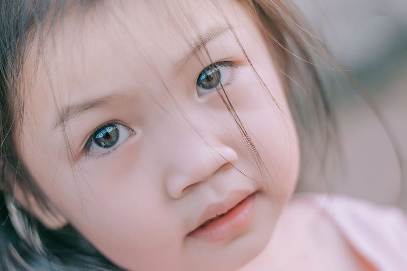 Child Childhood Portrait Girls One Person Innocence Females Looking At Camera Cute Women Close-up Human Body Part Eye Body Part Headshot Real People Human Face Offspring Small