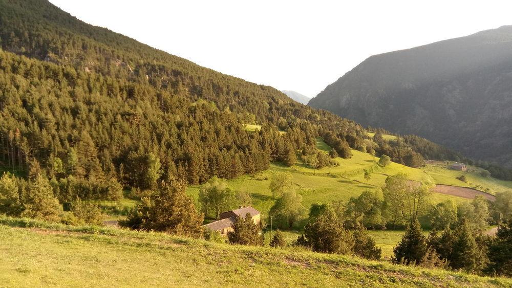 El Forn de Canillo. Nature Landscape Canillo Andorra🇦🇩 House Trees