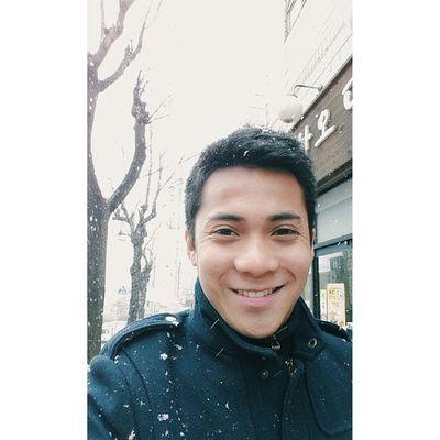 Yaaaay finally a snow selfie ?