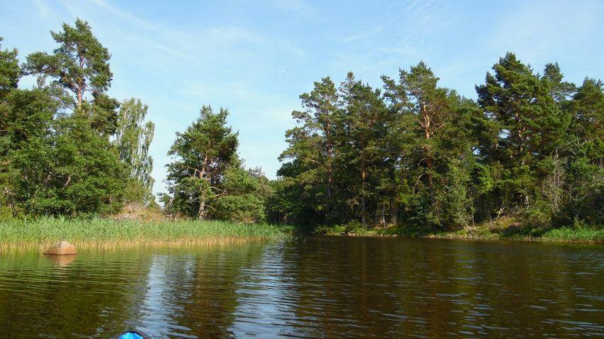 Relaxing Småland Sverige Skärgård Oskarshamn
