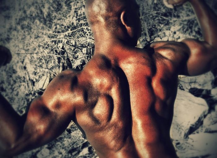 BodyBuilder Fitness Training Healthy Muscles Health&fitness Body & Fitness Shoulders Back Bodyshot Bodybackpose