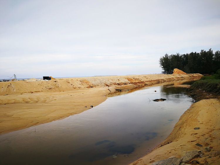 EyeEm Selects Sand Landscape Sand Dune Sky Nature Outdoors Water Scenics Day No People Beauty In Nature Beach Kuala Terengganu Malaysia