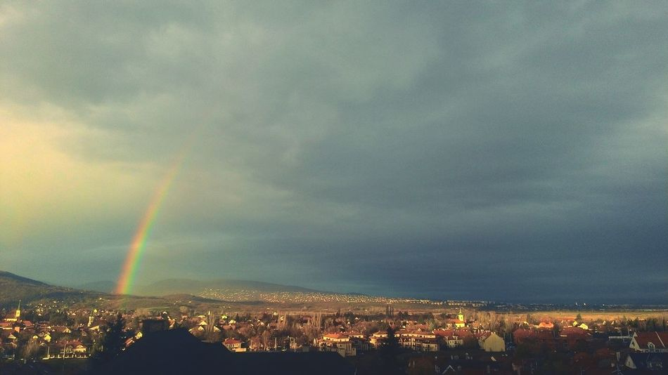Beautiful view from my window Beautiful Photography Rainbow