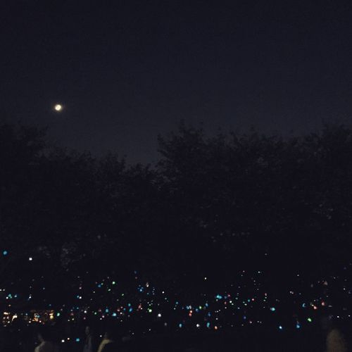 Light in the dark. Temple Hanging Out Yokohama