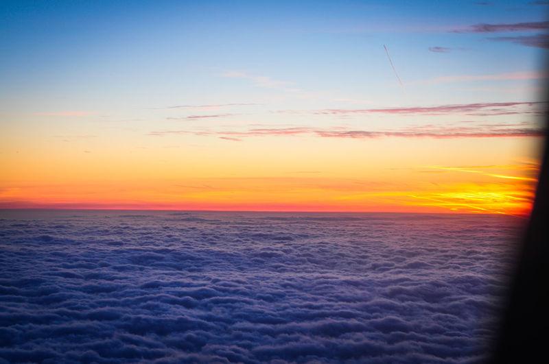 Airplane Airplane View Atmosphere Cloud Cloud - Sky Cloudy Dramatic Sky Sky