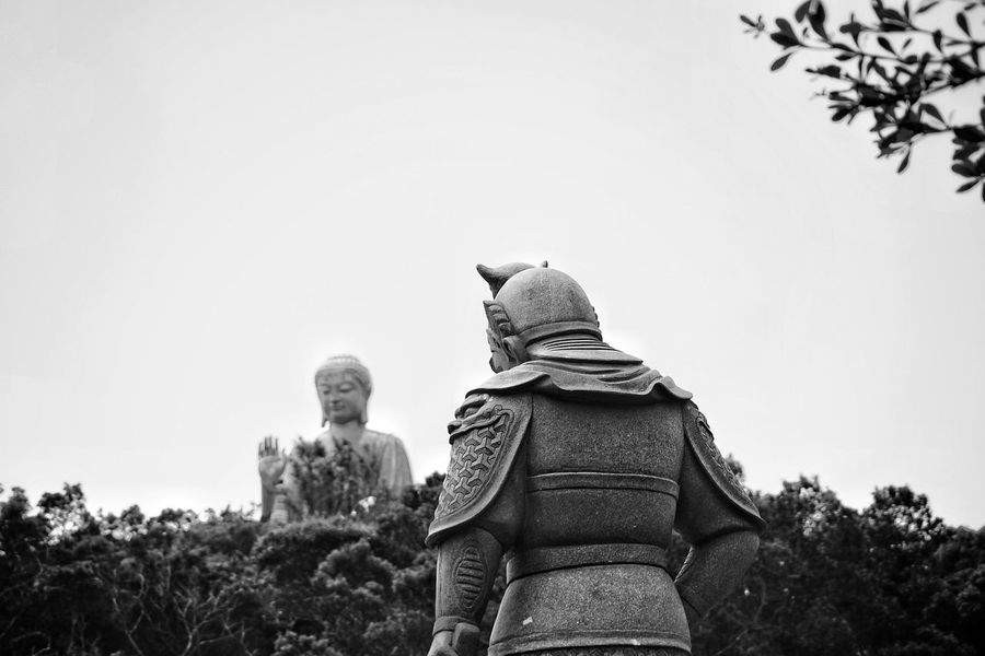 Hongkong Photos Buddha Hands Hi Bnw Blackandwhite Taking Photos Light And Shadow Fresh Scent Statue