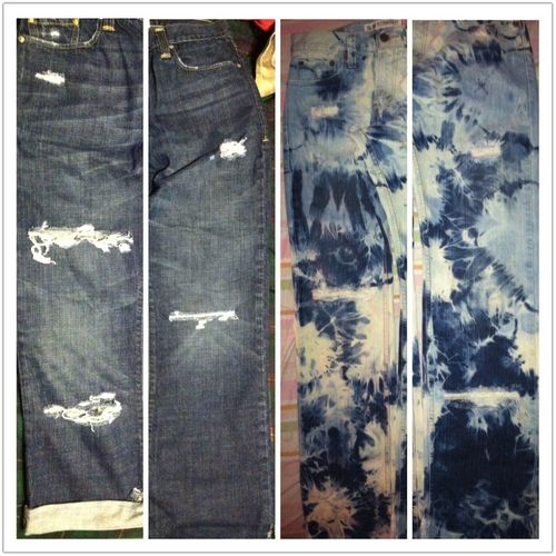 Cut && Bleached Dj && Jugg Pants