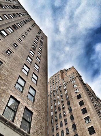 Apartment Architecture Building Building Exterior Built Structure City City Life Clouds And Sky Development Exterior Modern New York City Office Building Outdoors Perspective Residential Building Residential Structure Skyscraper Structure Tall Tall - High Urban Window