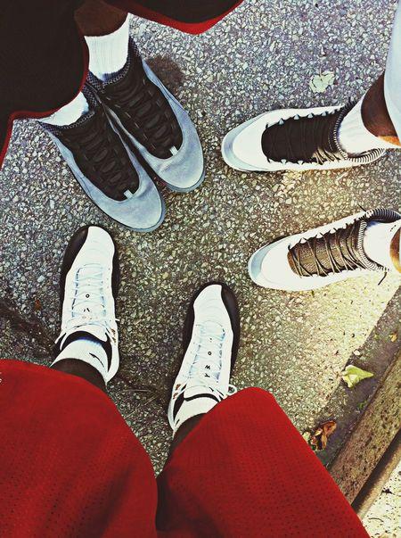 J walking Sneakerhead